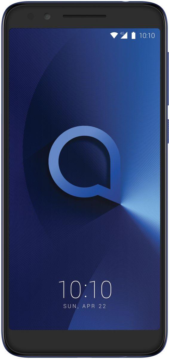 Alcatel 3L Dual SIM - 16GB, 2GB RAM, 4G LTE, Metallic Blue