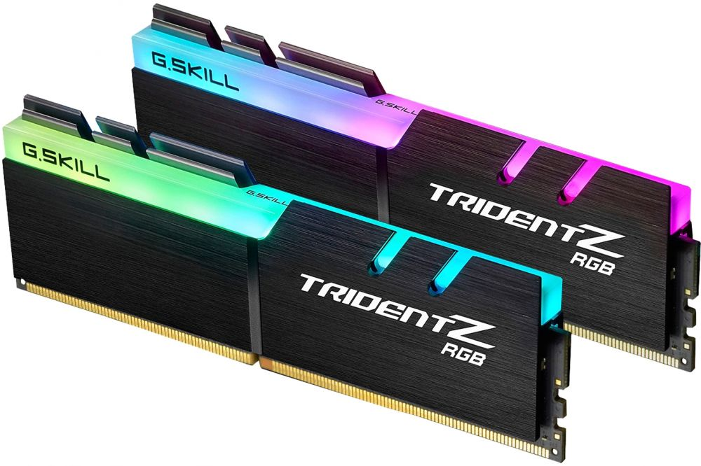 G.SKILL TridentZ RGB Series 16GB 288-Pin DDR4 3200MHz Desktop Memory Model, F4-3200C16D-16GTZR