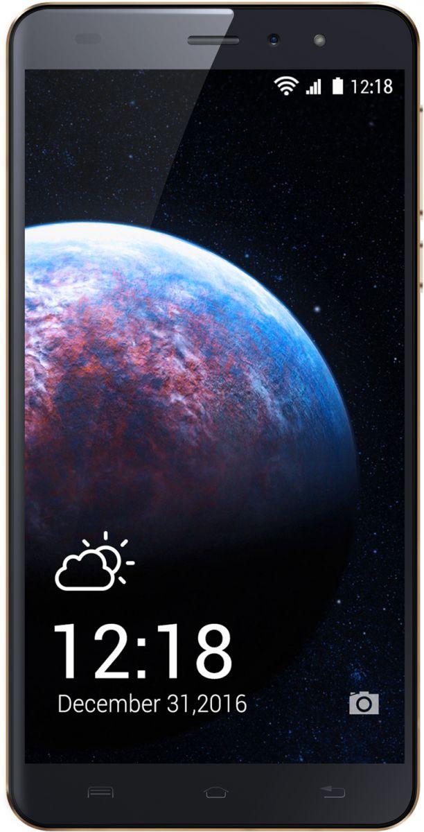 InnJoo Halo X LTE Dual SIM - 8GB, 1GB RAM, 4G LTE, Gold