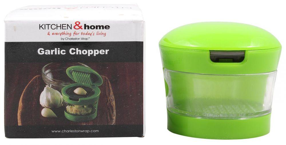Kitchen And Home Garlic Chopper- Green