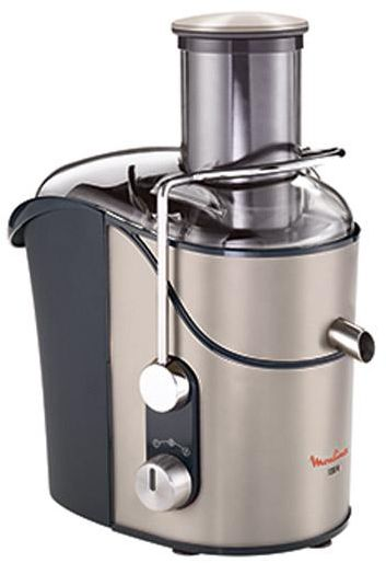 Moulinex Centrifugal Juice Extractor - JU655H10, Silver