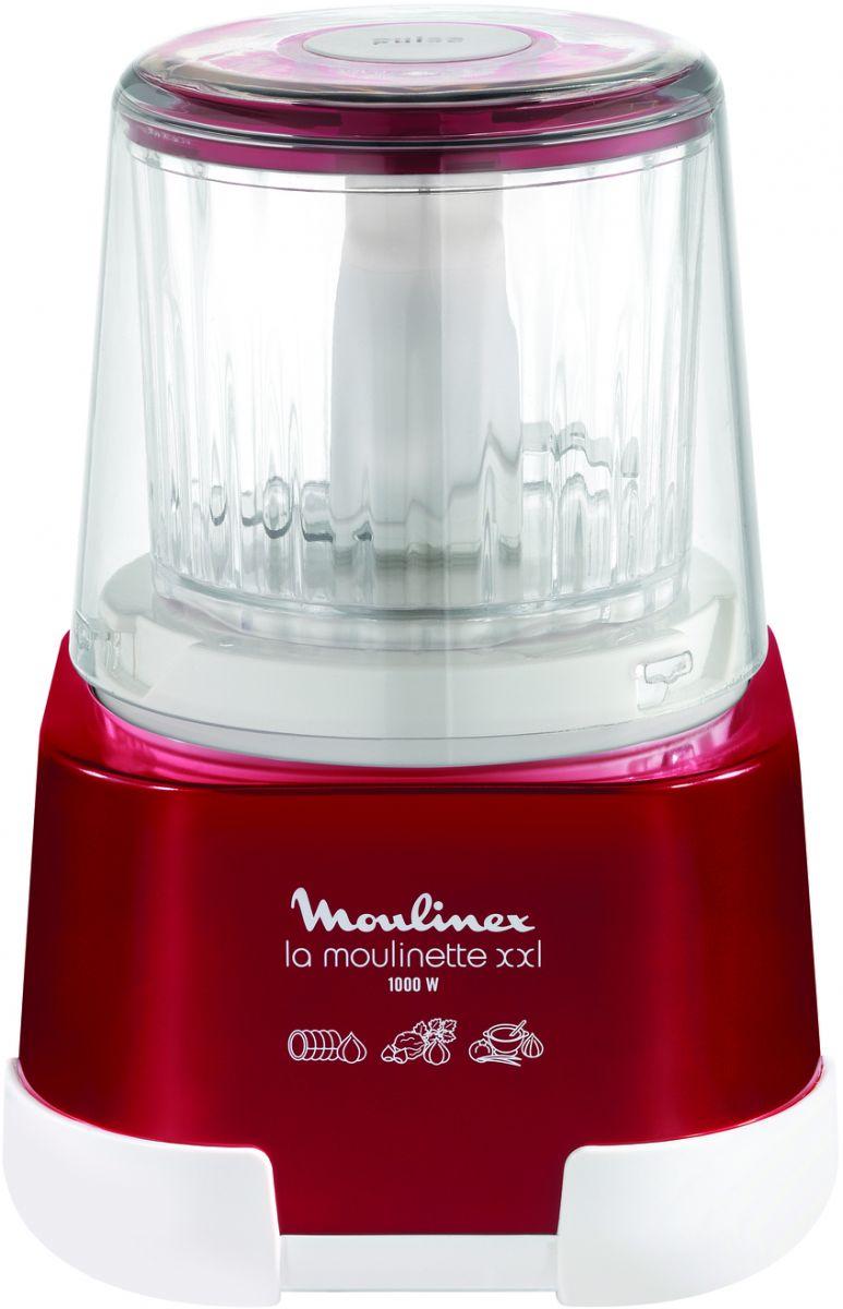 Moulinex La Moulinette XXL DP805G27 1000 Watt Chopper - Red Ruby
