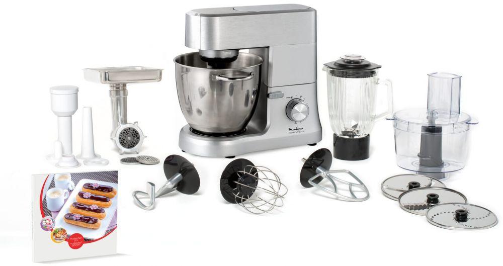 Moulinex Masterchef Grande is a versatile kitchen machine , 1500 Watts - QA813D27
