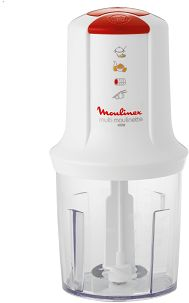 Moulinex Multi Moulinette Mini Chopper - White, 500 ml, AT711161