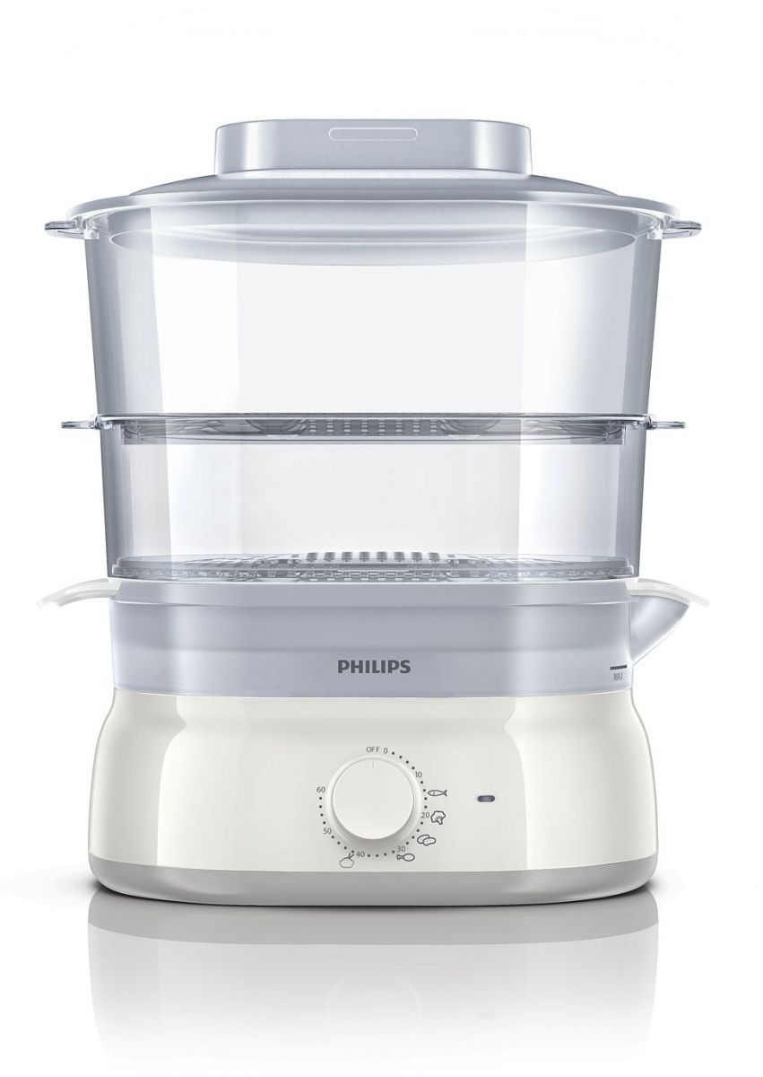Philips Daily Collection Food Steamer White, HD9115