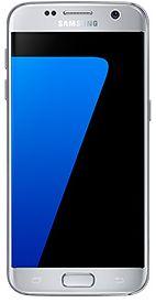 Samsung Galaxy S7 - 32 GB, 4 GB Ram, 4G LTE, Silver, Single Sim