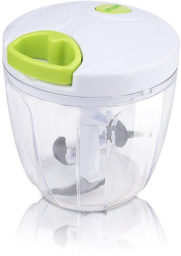 Sedhoom Manual Portable Food Vegetable Chopper, with Blade, Easy Pull Hand Held Blender Technology