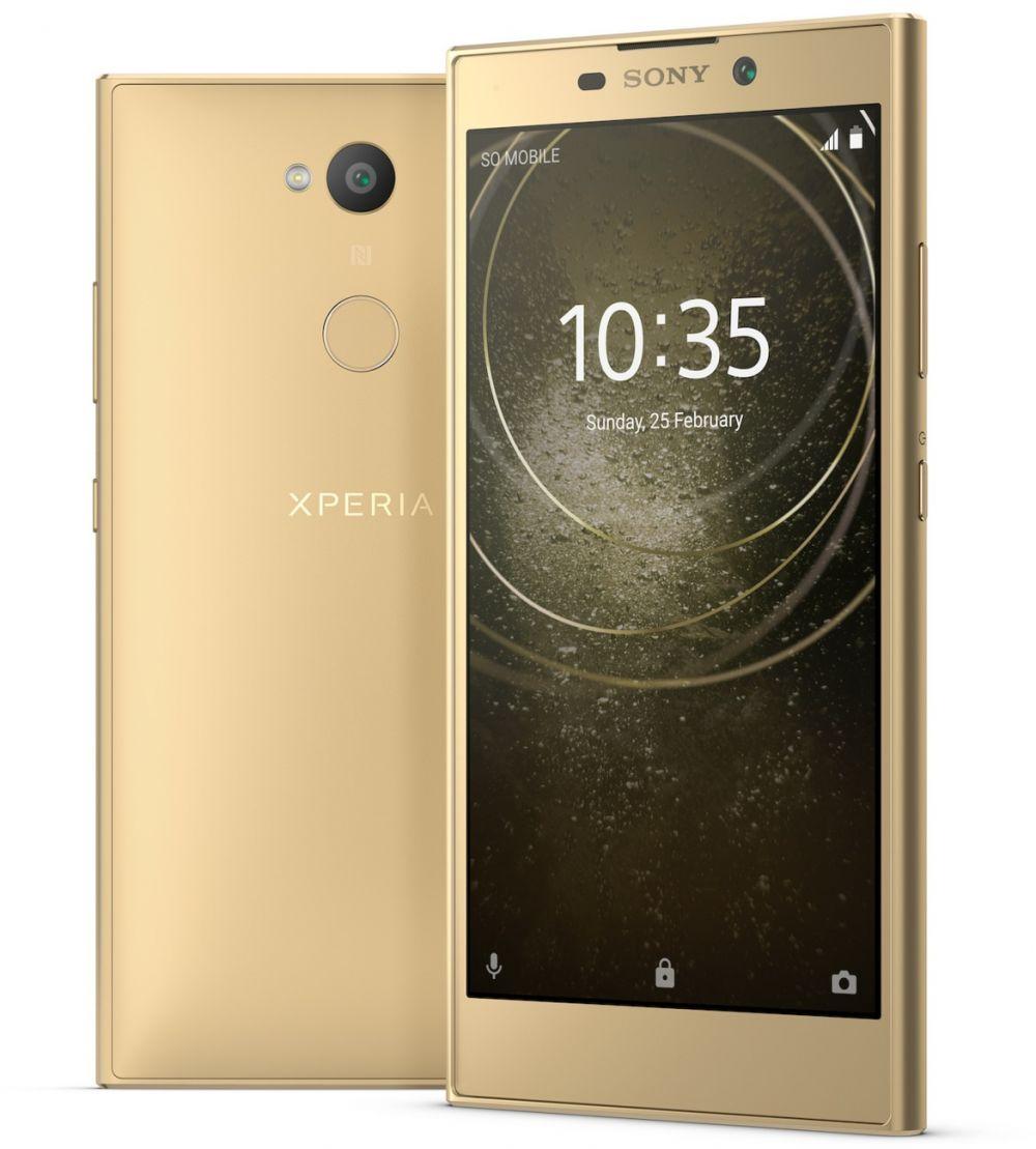 Sony Xperia L2 Dual SIM - 32GB, 3GB RAM, 4G LTE, Gold