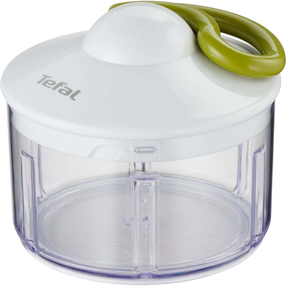 Tefal K1330404 500ml Manual 5 Seconds Food Chopper - White