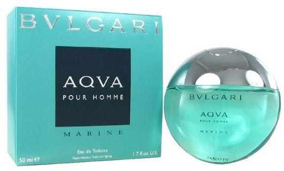Aqva Pour Homme Marine by Bvlgari for Men - Eau de Toilette, 50ml