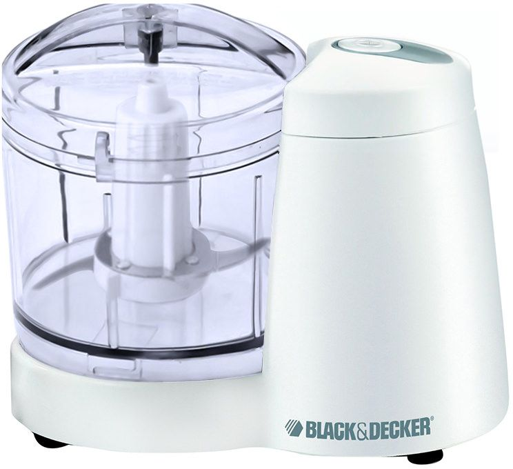 Black & Decker Mini Chopper - White, 350 ml, SC350-B5