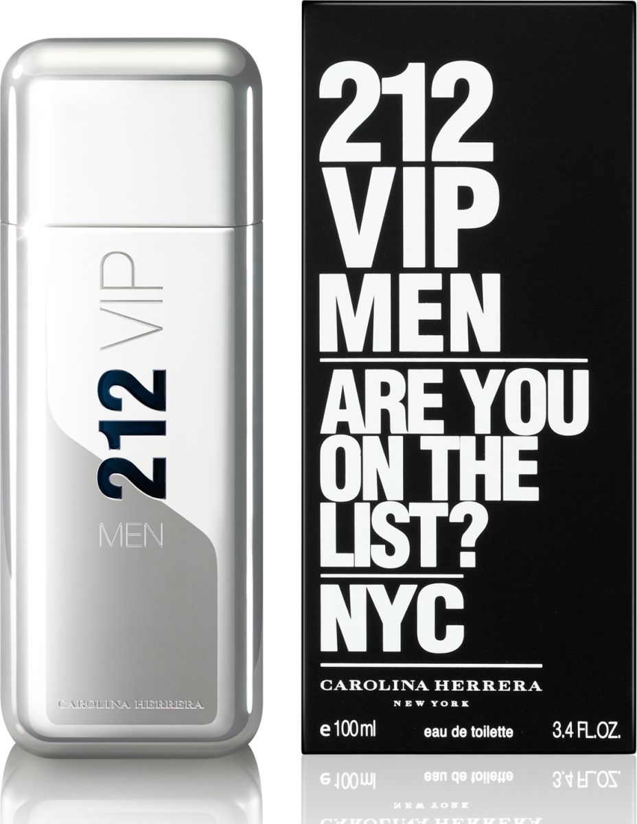 Carolina Herrera 212 VIP Men - Eau de Toilette, 100ml