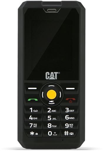 CAT B30 Ultra Rugged Dual Sim Phone - 1GB, 3G, Black