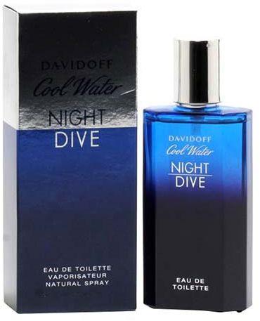 Cool Water Night Dive By Davidoff For Men - Eau De Toilette, 75Ml