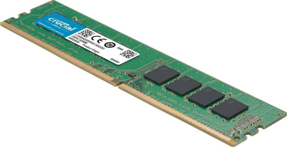Crucial 8GB DDR4 2666 MHz UDIMM Memory Module for PC - CT8G4DFS8266