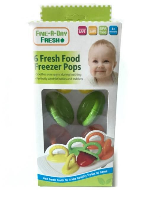 Food Freezer Pops from Five A Day Fresh