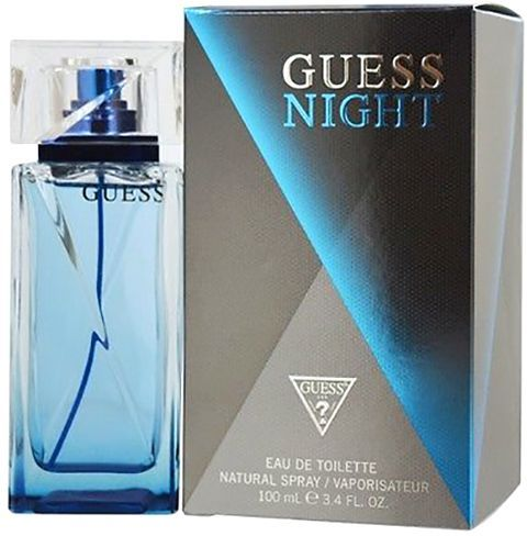 Guess Night by Guess for Men - Eau de Toilette, 100ml