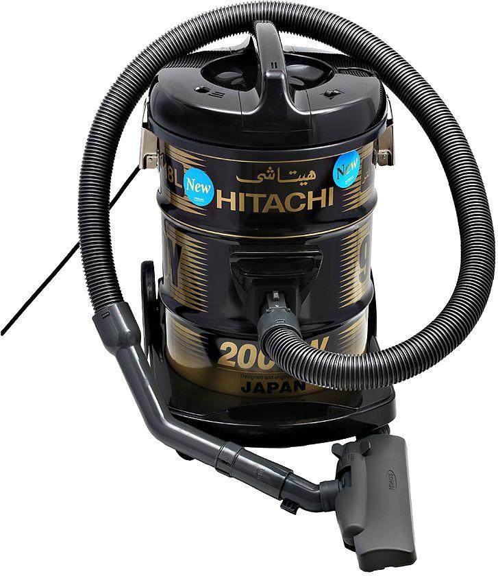 Hitachi CV950Y24CBSBK 18 Liter Corded Canister Vacuum Cleaner