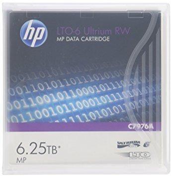 HP LTO-6 Ultrium 6.25TB MP RW Data Cartridge / C7976A