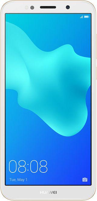 Huawei Y5 Prime 2018 Dual SIM - 16GB, 2GB RAM ,4G LTE, Gold