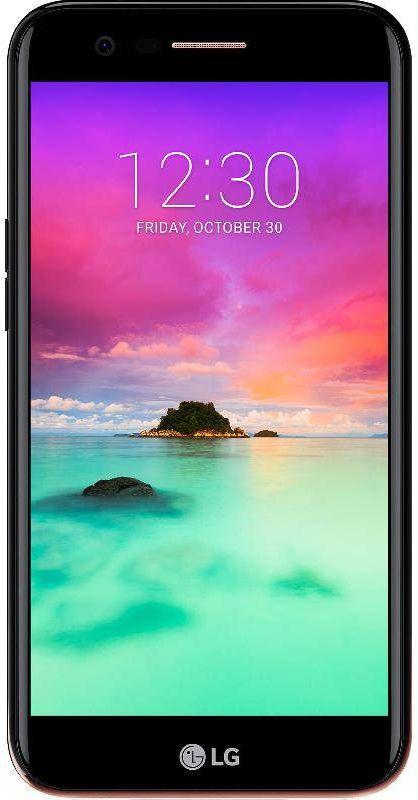 LG K10 2017 Dual SIM - 16GB, 2GB RAM, 4G LTE, Black, 5.3 Inch