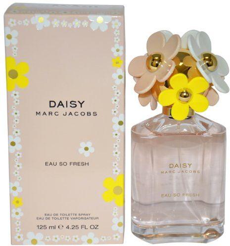 Marc Jacobs Daisy Eau So Fresh by Marc Jacobs for Women -Eau de Toilette, 125 ml-