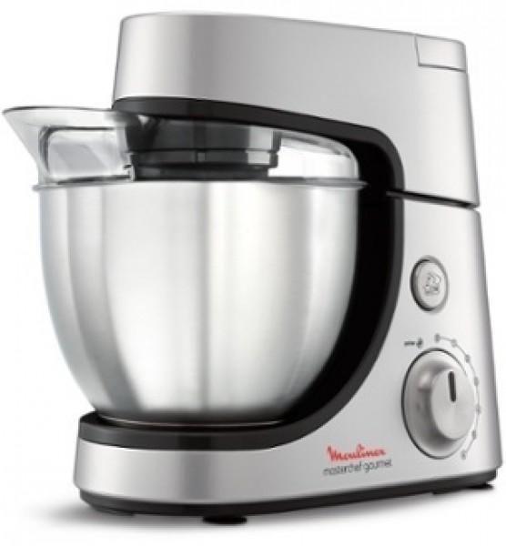 Moulinex QA503D27 Master Chef Kitchen Machine, Silver, Stainless Steel