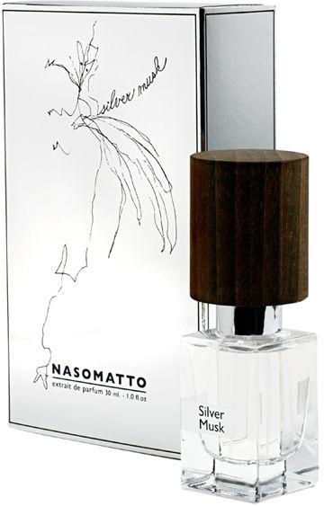 Nasomatto Silver Musk for Men & Women Extrait De Parfum 30ml Perfume