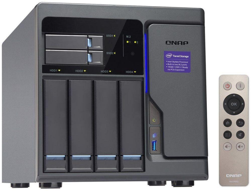 QNAP TVS-682-i3 8G 6 Bay Diskless NAS i3-6100 Dual-core 8GB RAM