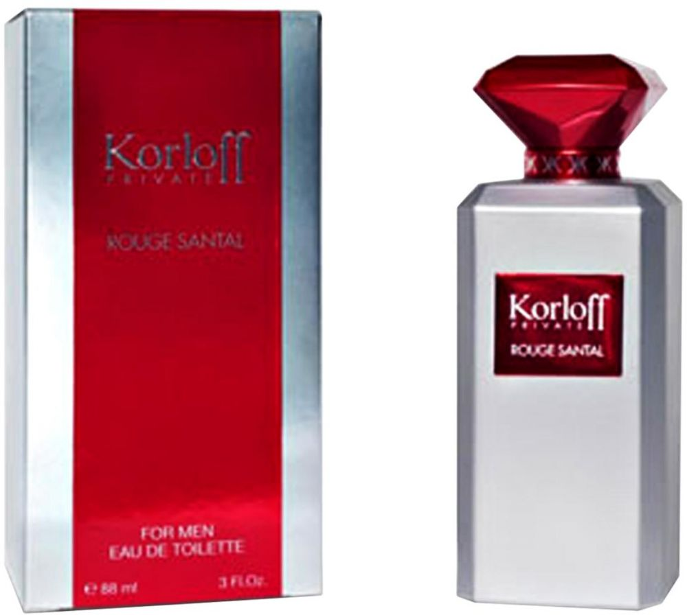 Rouge Santal By Korloff For Men - Eau De Toilette, 88 ml