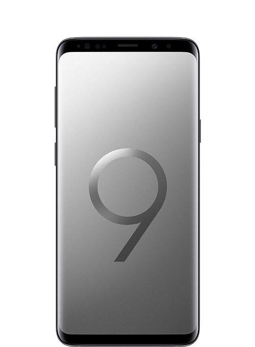 Samsung Galaxy S9+ Dual Sim - 64GB, 6GB Ram, 4G LTE, Titanium Grey - Middle East Version, 6.2 Inch