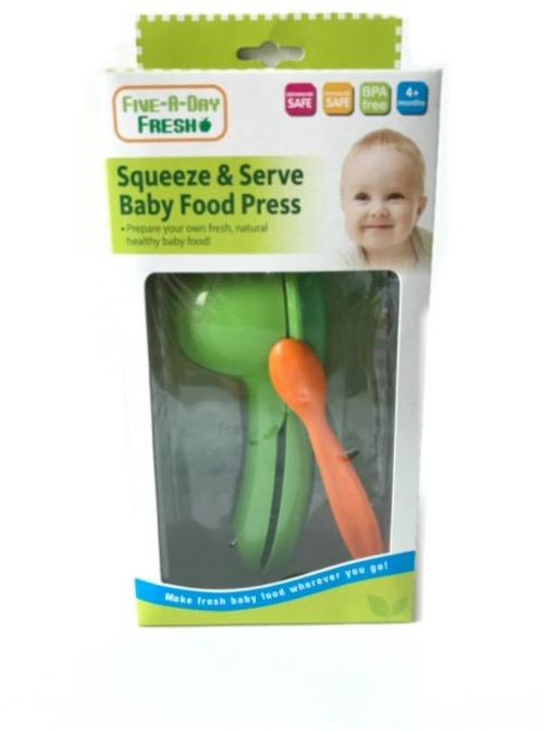 Squeeze & Serve Baby Food Press from five A day Fresh