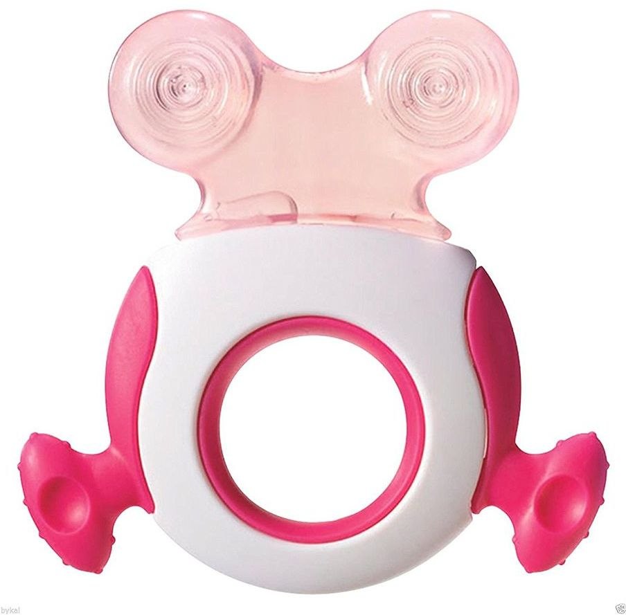 Tommee Tippee TT43645210 Closer Nature Stage 2 Teether, Pink ; Blue_TT43645210