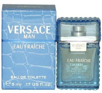 Versace Man Eau Fraiche by Versace for Men - Eau de Toilette, 5ml