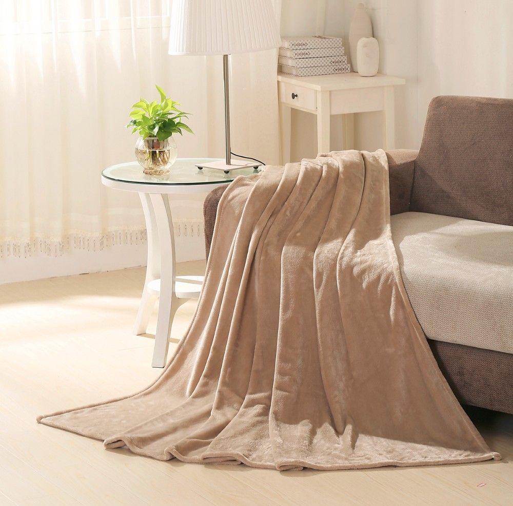 بطانية صوف شتوية خفيفة ، مقاس كينغ، 210*200 سم