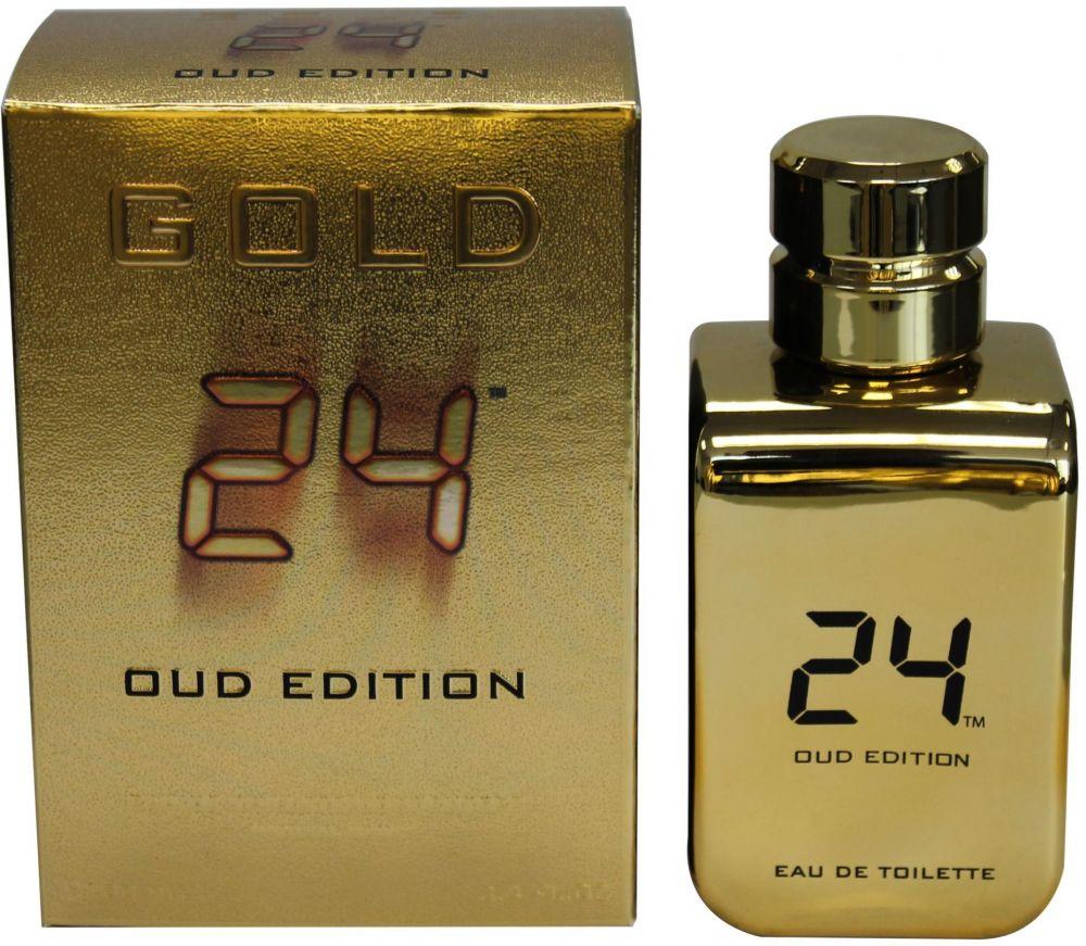 24 Gold Oud Edition by ScentStory 100ml Eau de Toilette