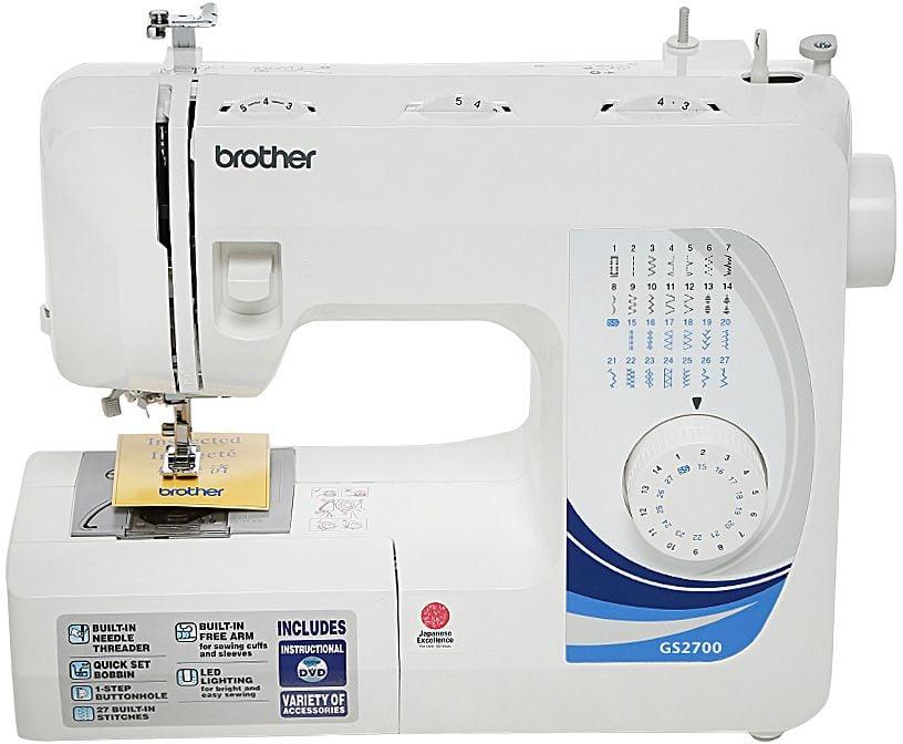 براذر - ماكينة خياطة الكترونية 27 غرزة موديل (GS-2700 )