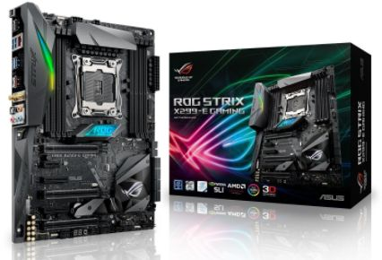 ASUS ROG Strix X299-E Gaming LGA 2066, DDR4, Intel X299 ATX Motherboard