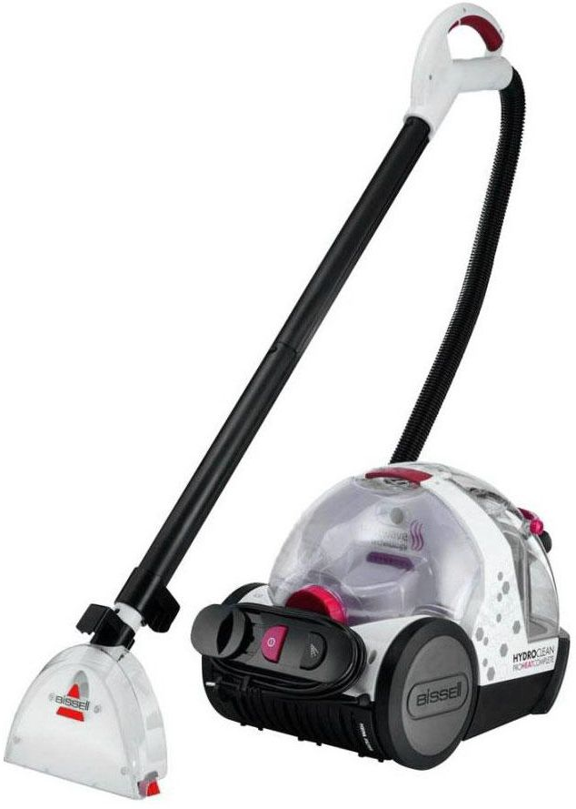 Bissell HydroClean ProHeat Complete - White/Red, 1474E