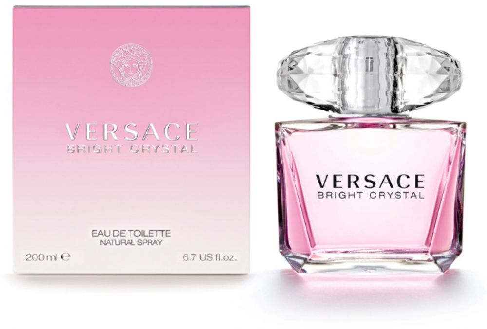Bright Crystal By Versace For Women - Eau De Toilette, 200Ml