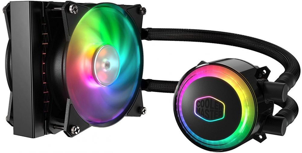 Cooler Master MasterLiquid ML120R Addressable RGB All-in-one CPU Liquid Cooler Dual Chamber INTEL/AMD Support Cooling (MLX-D12M-A20PC-R1)