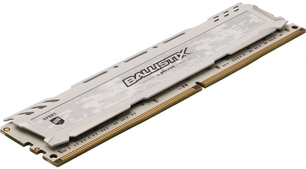 Crucial Ballistix Sport LT Series 16GB DDR4 3200 MHz UDIMM Memory Module for PC - BLS16G4D32AESC