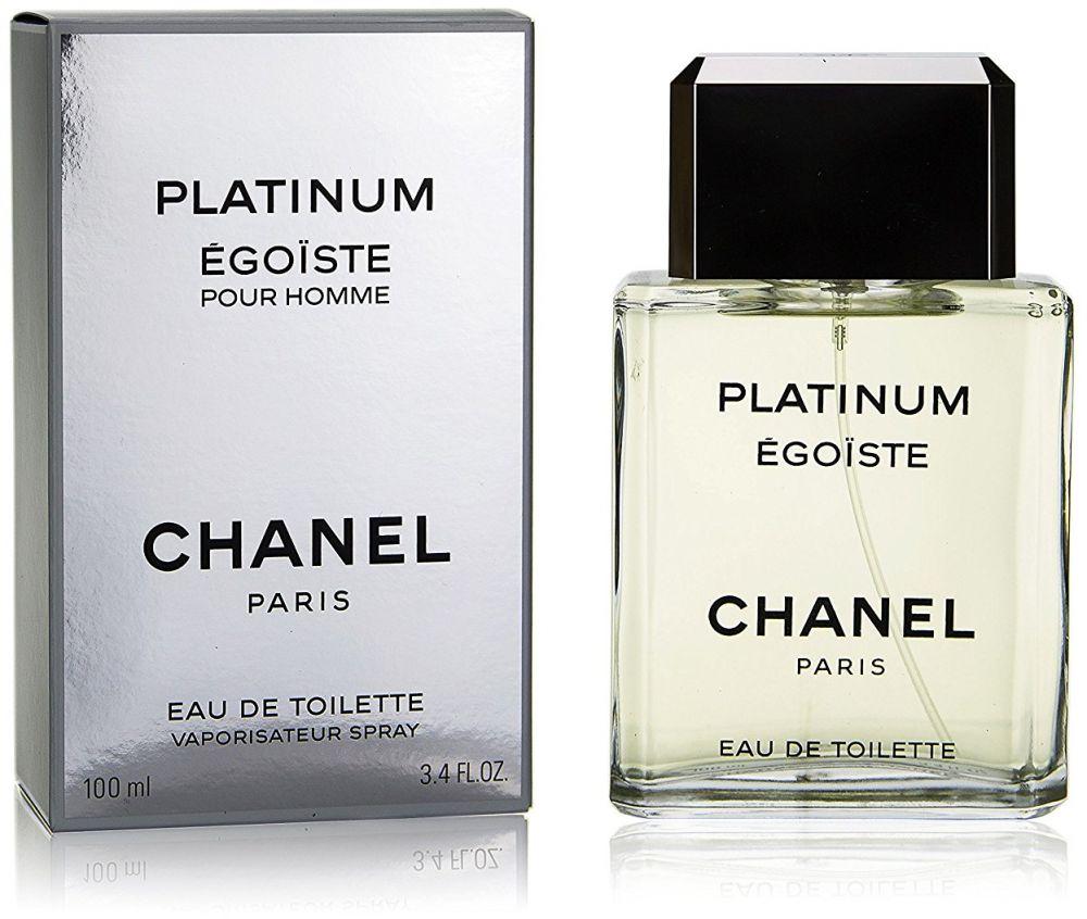 Egoiste Platinum by Chanel for Men - Eau de Toilette, 100ml