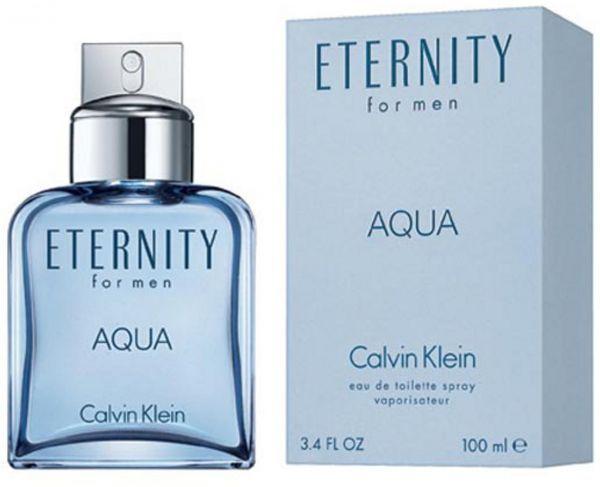 Eternity Aqua by Calvin Klein for Men - Eau de Toilette, 100ml