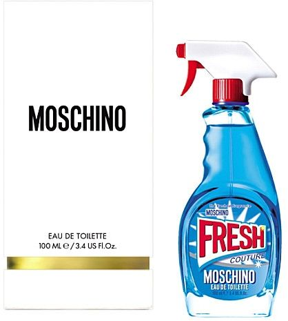 Fresh Couture by Moschino for Women - Eau de Toilette, 100ml