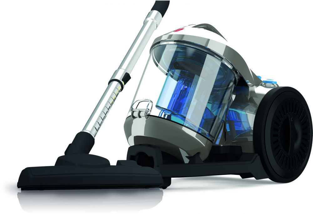 Hoover Power 4 Canister Vacuum Cleaner - Grey, HC85-P4-ME