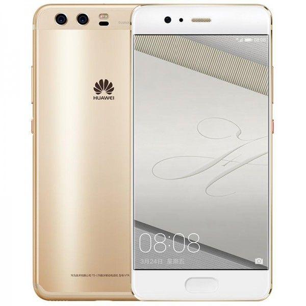 Huawei P10 VTR-L29 Dual Sim - 64GB, 4GB RAM, 4G LTE, Dazzling Gold