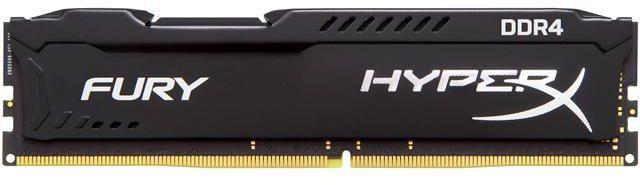 HyperX Fury 16GB (1 x 16GB) DDR4 2400MHz Desktop RAM Black
