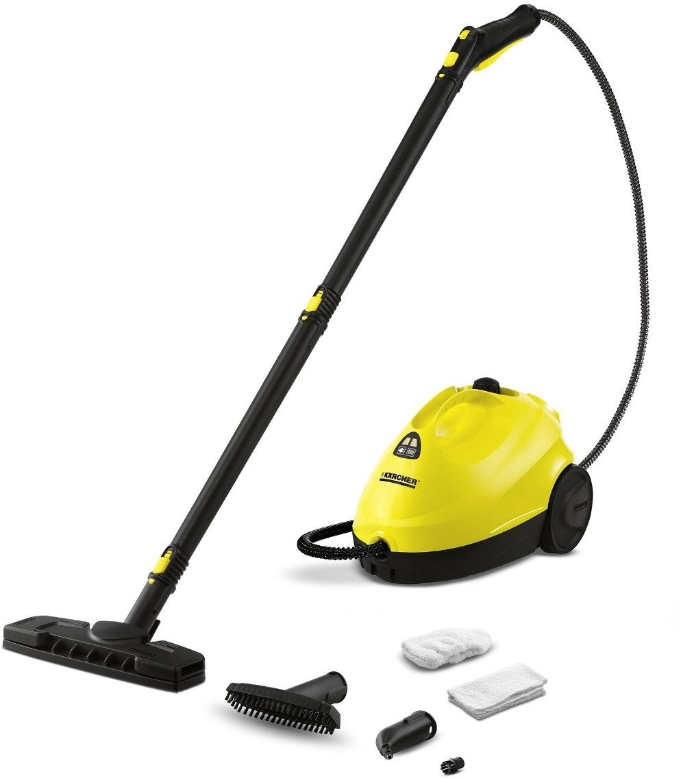 Karcher 15122130 Steam Vacuum Cleaner, Yellow & Black