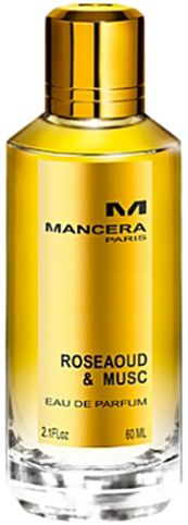 Mancera Rose Aoud & Musc by Mancera for Unisex - Eau de Parfum, 120ml